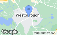 Map of Westborough, MA