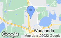 Map of Wauconda, IL