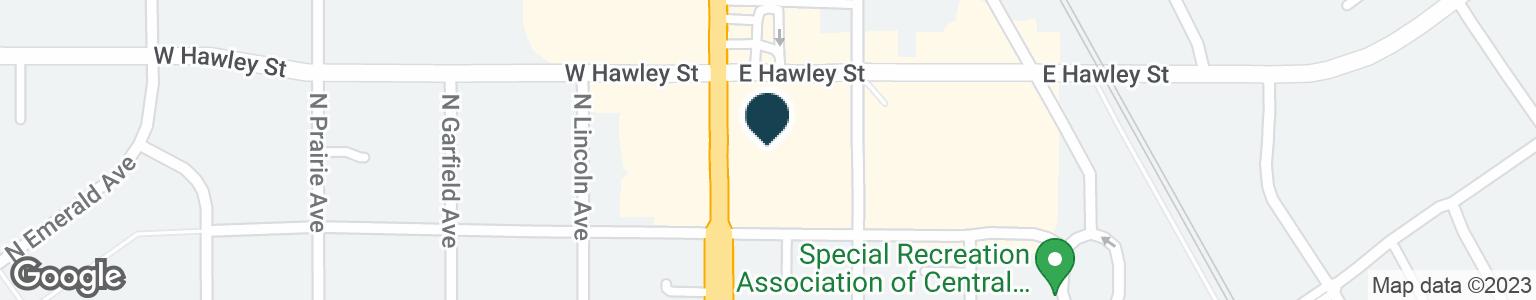 Google Map of345 N LAKE ST