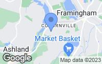 Map of Framingham, MA