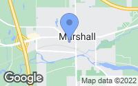Map of Marshall, MI
