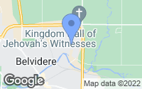 Map of Belvidere, IL