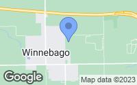 Map of Winnebago, IL