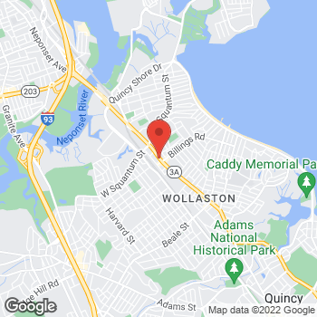 Map of Norman Wortzman, DPM at 389 Hancock Streetunit B, North Quincy, MA 02171