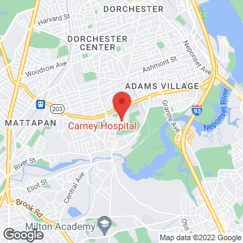 Map of Chaya Bhuvaneswaran, MD at 2100 Dorchester Avenue, Dorchester, MA 02124