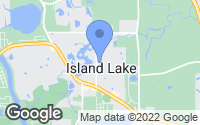 Map of Island Lake, IL