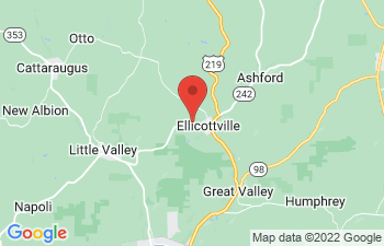 Map of Ellicottville