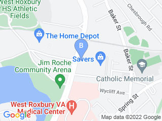 Map of Luxe Pet Resort Dog Boarding options in West Roxbury | Boarding