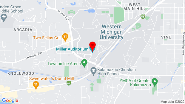 Google Map of 2200 Auditorium Drive, Kalamazoo, MI 49008