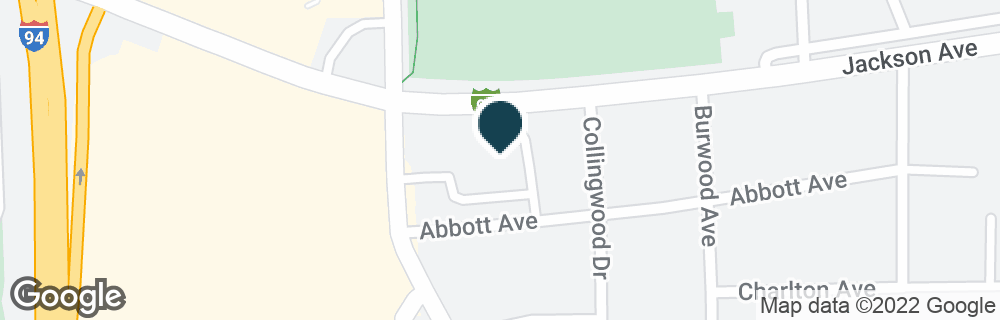 Google Map of2355 JACKSON AVE