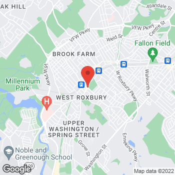 Map of Caroline Baumal, MD at 2020 Centre Street, West Roxbury, MA 02132