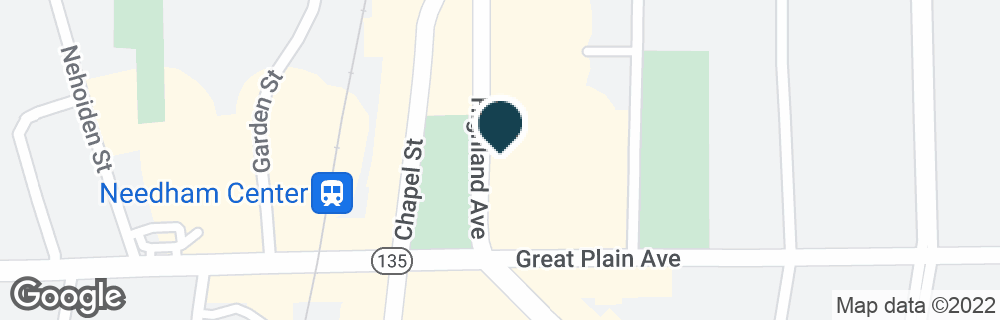 Google Map of1478 HIGHLAND AVE