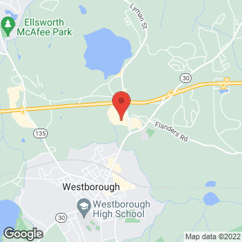 Map of Staples at 18 Lyman St, Westborough, MA 01581