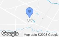 Map of Dearborn, MI