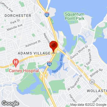 Map of Staples® Print & Marketing Services at 757 Gallivan Blvd, Dorchester, MA 02122
