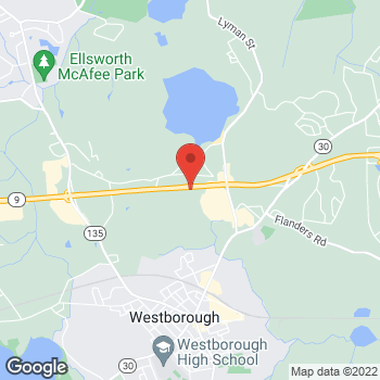 Map of Bertucci's Italian Restaurant at 160 Turnpike Road, Westborough, MA 01581