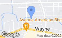 Map of Wayne, MI