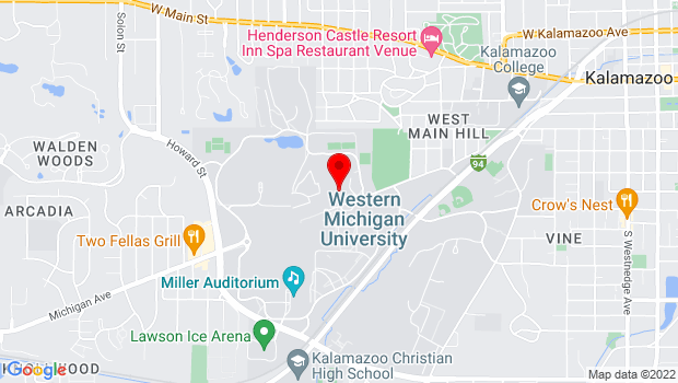 Google Map of 1903 W. Michigan Avenue, Kalamazoo, MI 49008