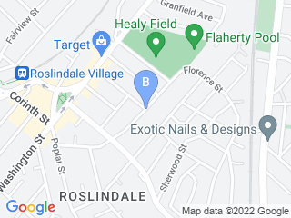 Map of Wendy's Waggin' Tails Dog Boarding options in Roslindale | Boarding