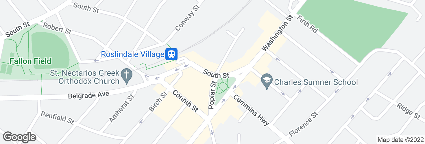 Map of South St @ Taft Hill Terr and surrounding area
