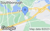 Map of Southborough, MA