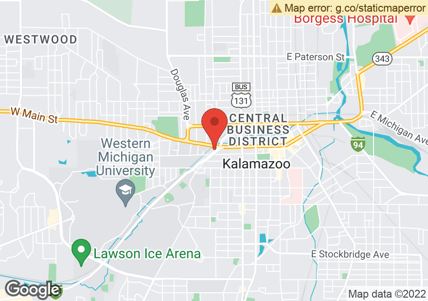 Google Map of 760 W MICHIGAN AVE
