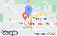 Map of Freeport, IL