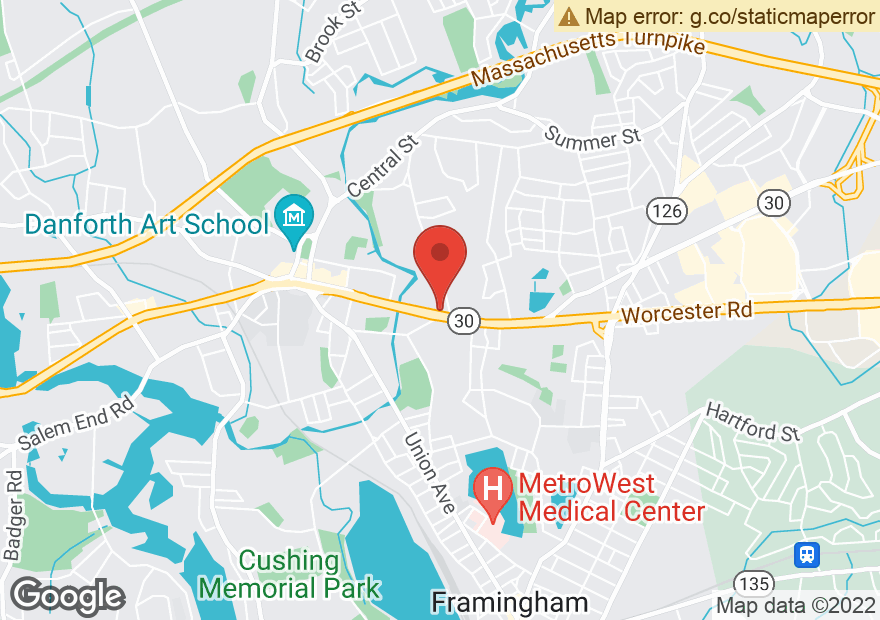 Google Map of 653 WORCESTER RD