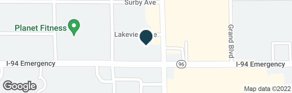 Google Map of50 COLUMBIA AVE W