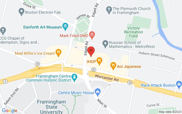 static image of 5 Edgell Road, Suite 32, Framingham, Massachusetts