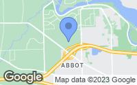 Map of Ann Arbor, MI