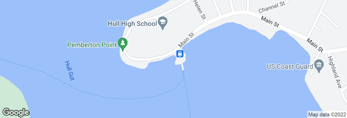 Map of Hull and surrounding area