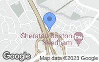 Map of Needham, MA