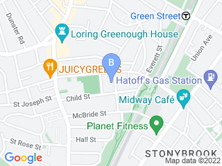 Map of The Dog Walker Dog Boarding options in Jamaica Plain | Boarding