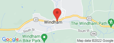 Map of Windham Diner