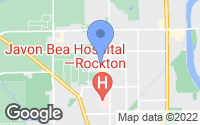 Map of Rockford, IL