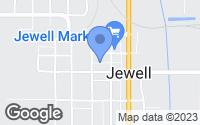Map of Jewell, IA