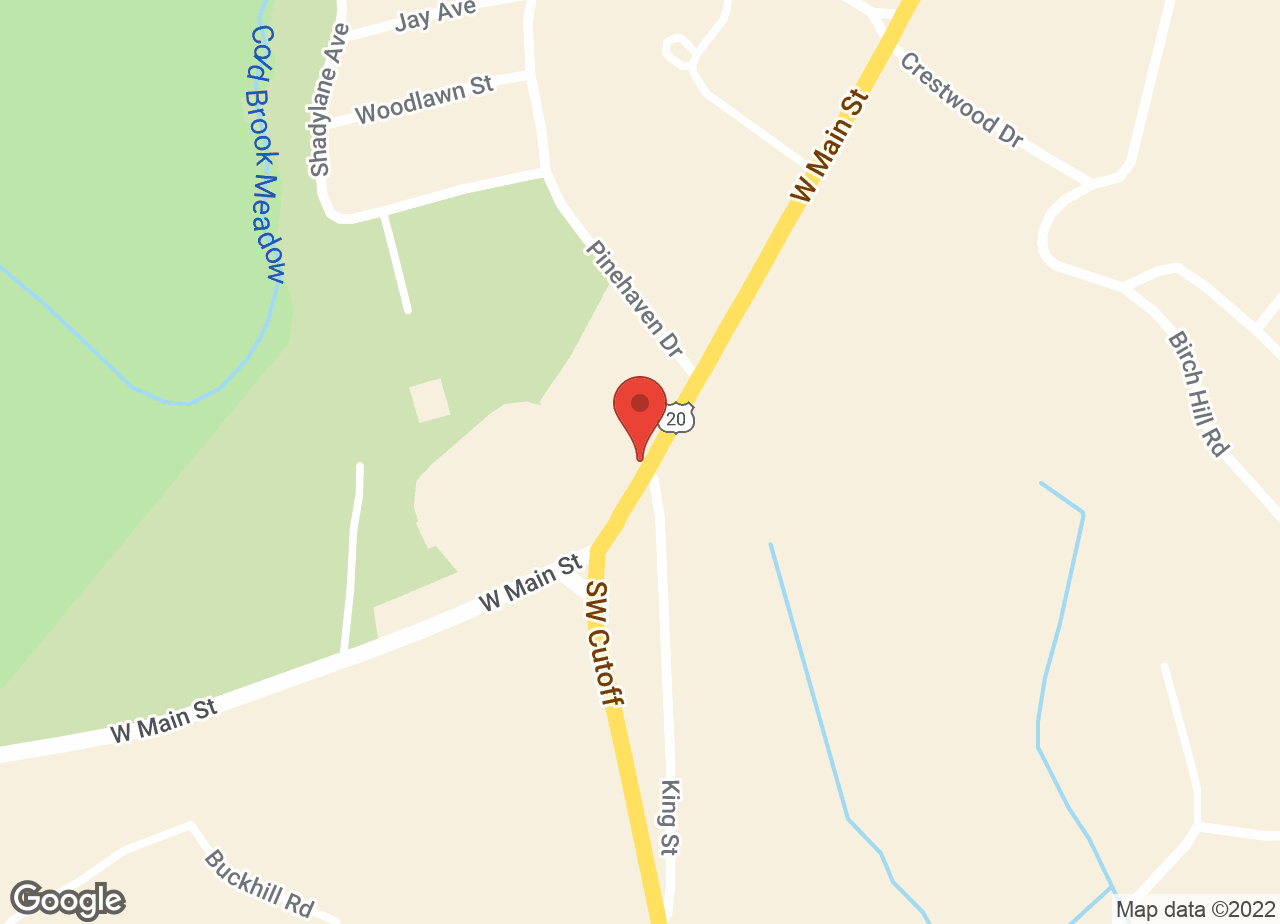 Google Map of VCA Northboro Animal Hospital