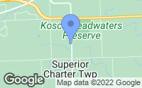 Map of Superior Charter Township, MI
