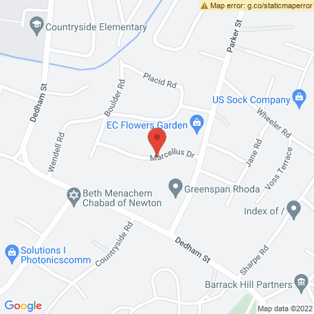Flashmap Systems Inc on Map (41 Marcellus Dr, Newton Center, MA 02459) Map