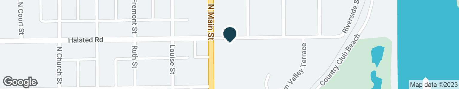 Google Map of3325 N MAIN ST