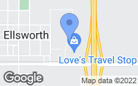 Map of Ellsworth, IA