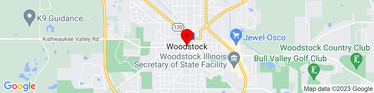Google Map of 42.3147436, -88.44870209999999