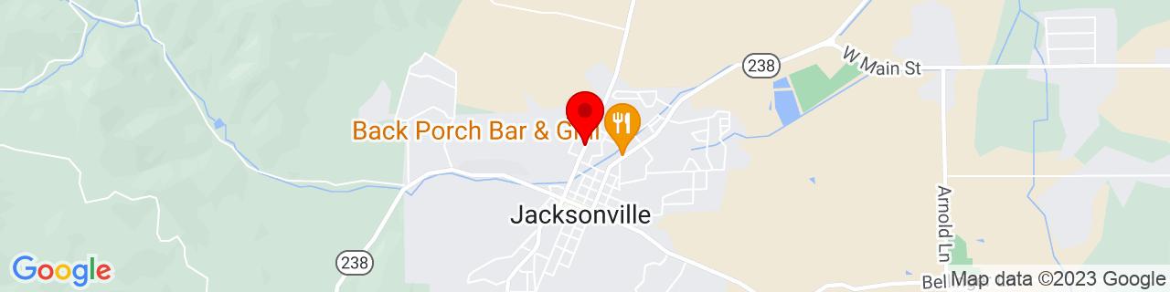 Google Map of 42.3181755, -122.966508