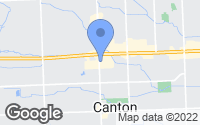 Map of Canton, MI