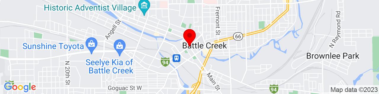 Google Map of 42.3208952, -85.1840766