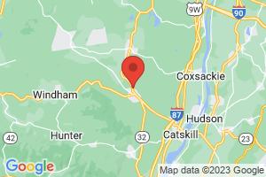 Map of Woodstock