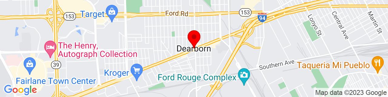 Google Map of 42.32226, -83.17631