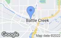 Map of Battle Creek, MI
