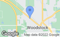 Map of Woodstock, IL